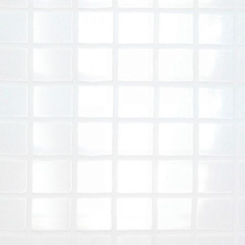 White Gloss Small Pattern Tile Panel